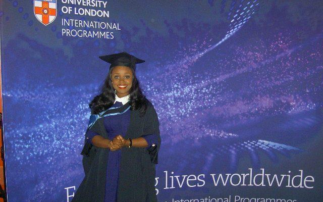 My graduation day