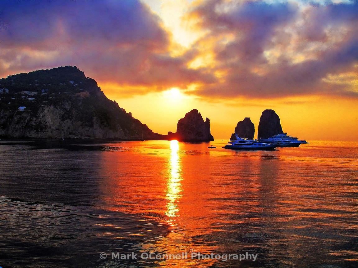 Capri- sunrise