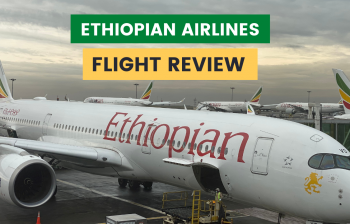 My Experience on Ethiopian Airlines : Best African Airline?