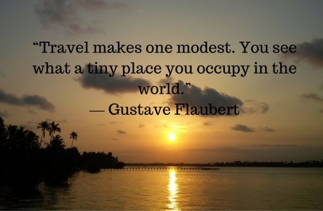 Lessons i learned from traveling
