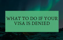 what to do if your visa is denied